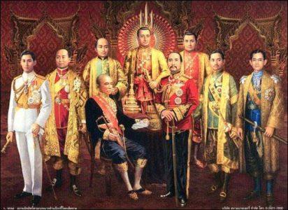 Le peuple thaïlandais voue depuis toujours une véritable vénération pour leurs Rois, et pour la dynastie chakri