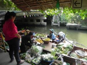 marché flotmarché flottant Khlong Lat Mayomtant Khlong Lat Mayom.