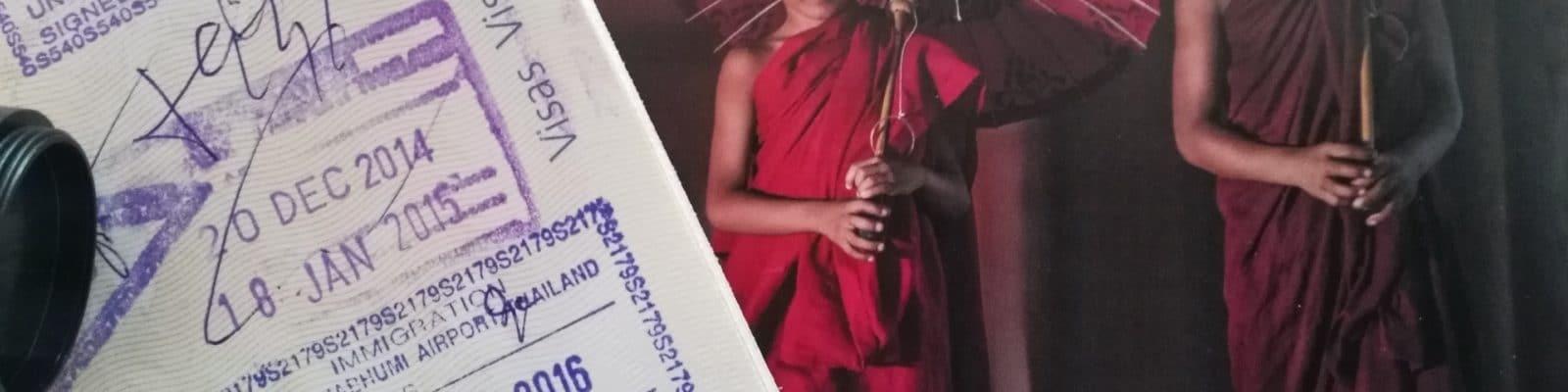 Visa Touristique pour la Thaïlande