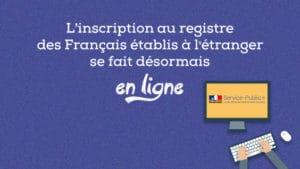 s'inscrire au registre des français de l'étranger