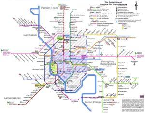 Les moyens de Transport en Thailande