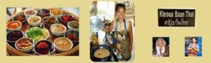 Si vous recherchez des cours de cuisine thaïlandaise en français, nous vous recommandons de vous inscrire à Khroua Baan Thaï à Chiang Mai