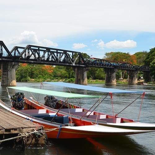 On ne peux pas visiter Kanchanaburi, sans découvrir la ville du pont de la rivière kwai, et son passé historique. Sous l'occupation japonaise