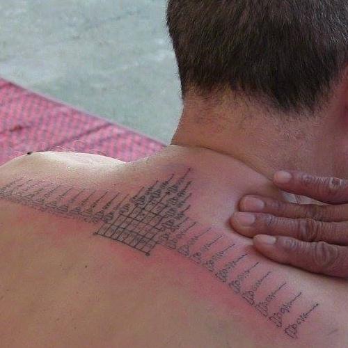 Sak Yant , le tatouage sacré
