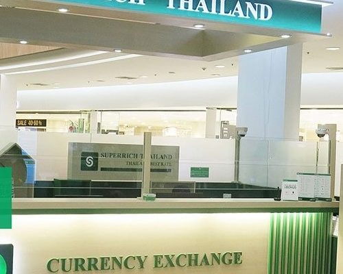 Bureaux de change en Thaïlande