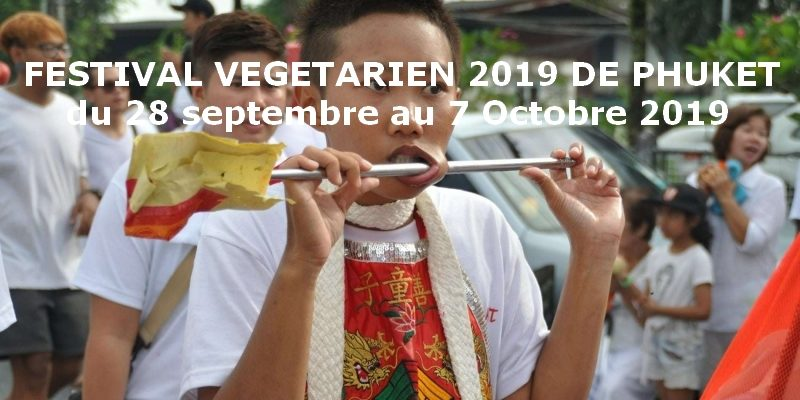 festival végétarien de phuket du 28 septembre au 7 Octobre 2019