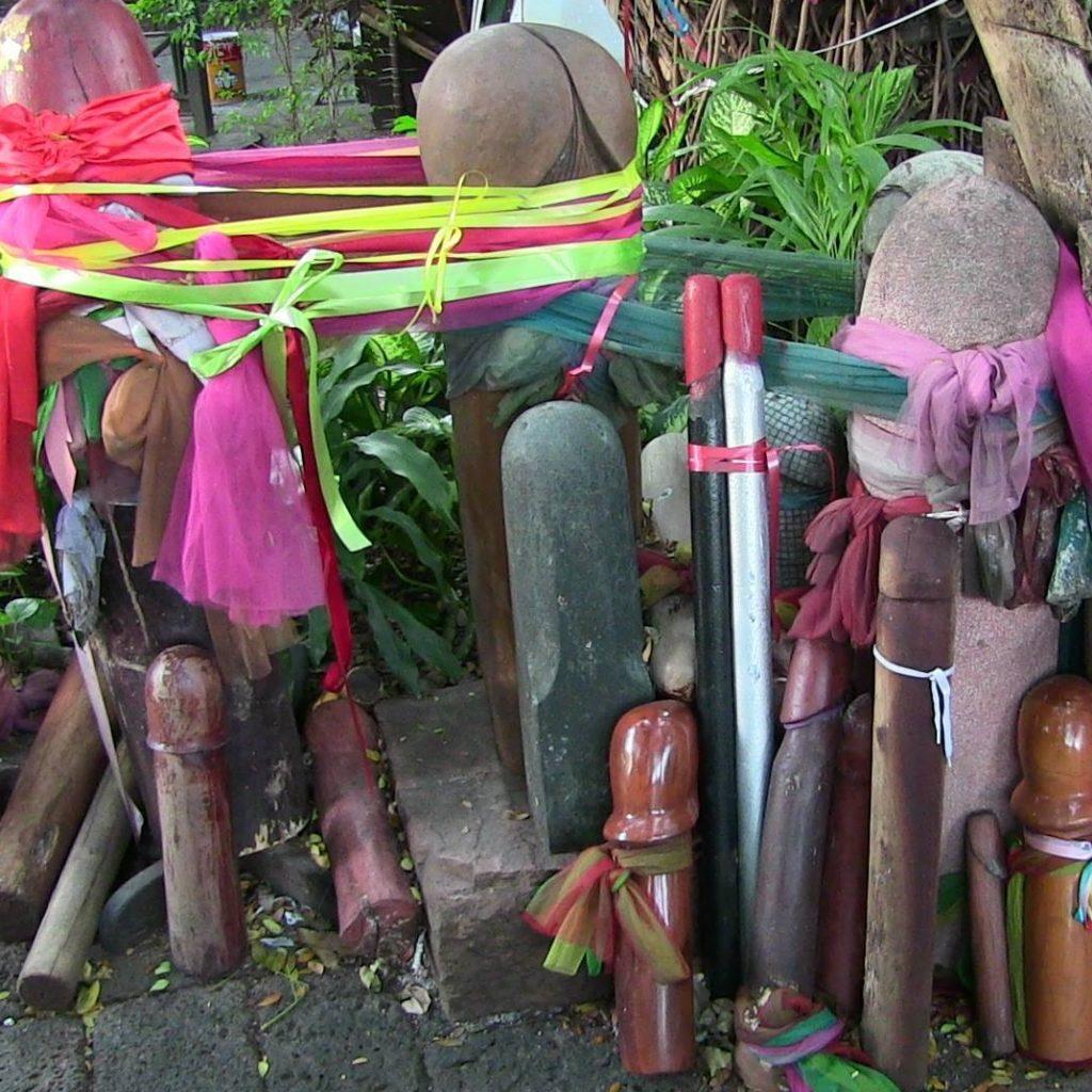Le Temple de la déesse de la fertilité à Bangkok