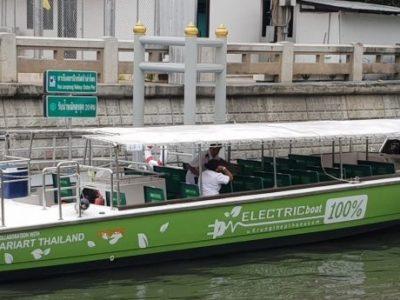 le royaume teste son premier bateau thaïlandais 100 électrique