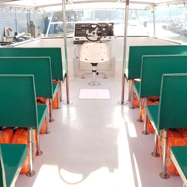Le bateau thaïlandais 100% électrique