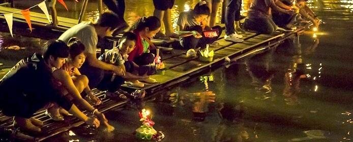 Loy krathong festival des lanternes 2019 en Thaïlande (histoire)