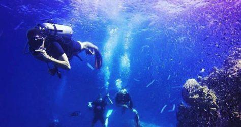 plongée sous-marine en Thailande
