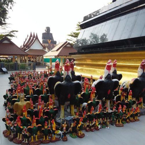 Visite du temple Wat Huay Mongkol, Hua Hintemple Wat Huay Mongkol, Hua Hin