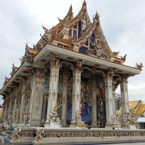 Le Wat Pariwat, un temple unique à Bangkok