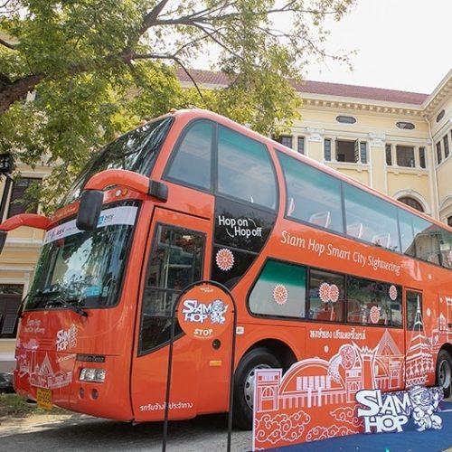 Siam Hop, le service de bus touristiques de Bangkok