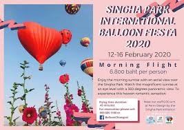 Singha Park Chiang Rai International Balloon Fiesta 2020