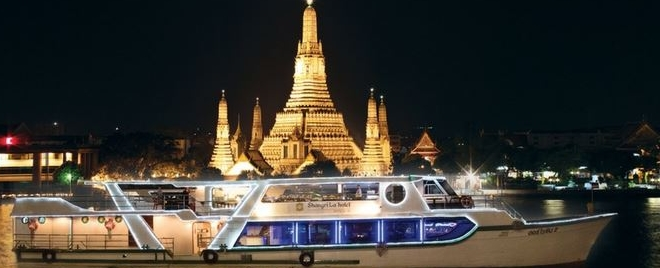 Dîner-croisière romantique à Bangkok