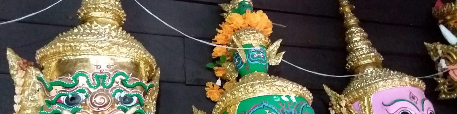 Un spectacle de Khon inclus dans le prix d'entrée du Grand Palais à Bangkok