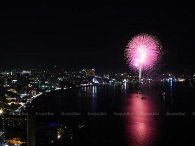 festival international de feux d'artifice pattaya