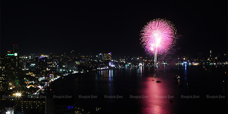 festival international de feux d'artifice pattaya