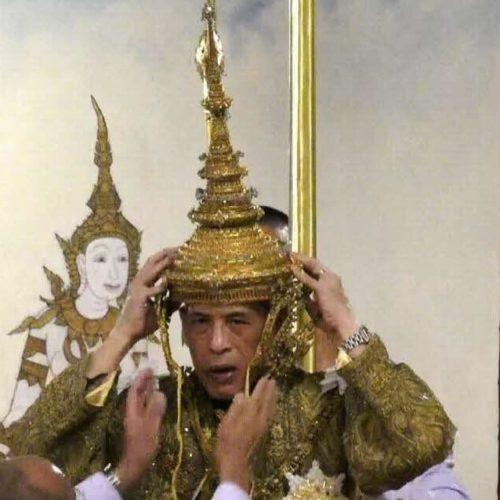 couronne de sa majesté le roi rama X