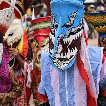 Phi Ta Khon, le festival des fantômes