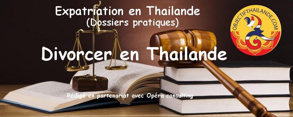 Divorcer en Thailande