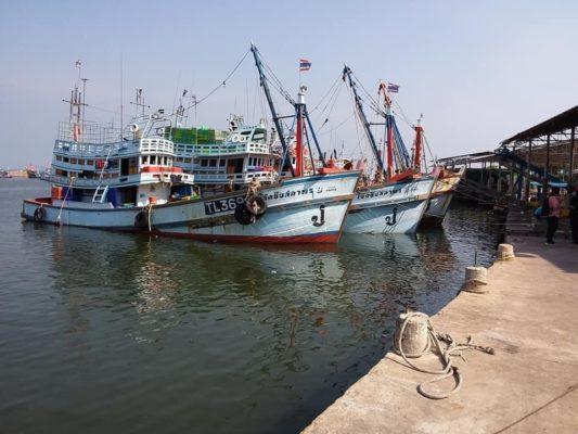 Le port de Cha-am