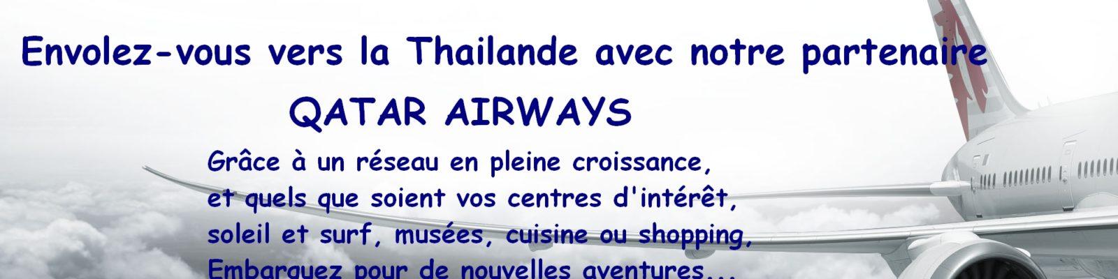 Thailande, réserver avec Qatar Airways