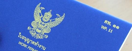 Work permit thailandais