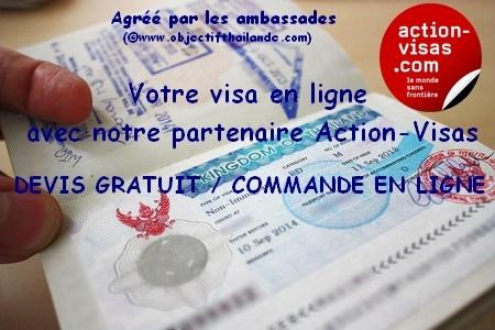 votre visa pour la Thailande avec Action-Visas