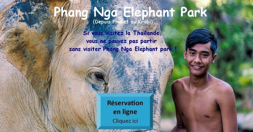 Phang Nga Eléphant Park