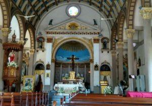 L'Insolite église Santa Cruz - Bangkok