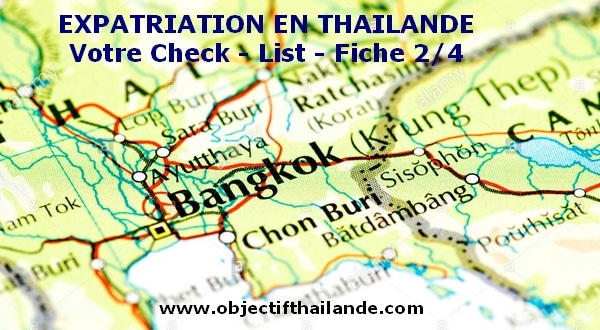 Expatriation : votre check-list avant de partir en Thailande (2/4)