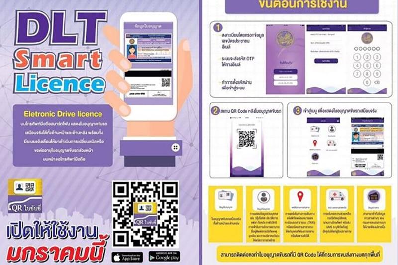 le permis de conduire à point en thailande