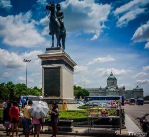 Statue équestre de Sa Majesté le roi Rama V