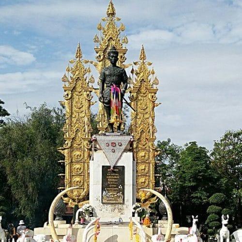 Monument du roi Mengrai