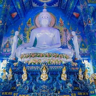 Chiang Rai le Temple bleu