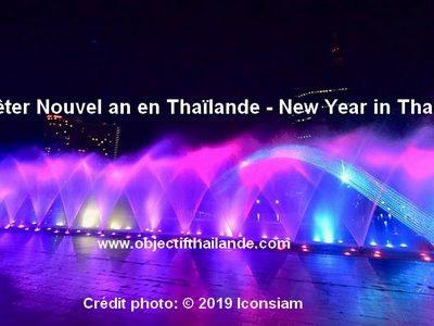 Où fêter Nouvel an 2020 en Thaïlande - New Year in Thailand