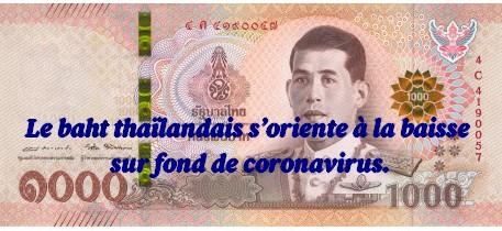 Le coronavirus fait baisser le baht et fragilise l'économie thaïlandaise