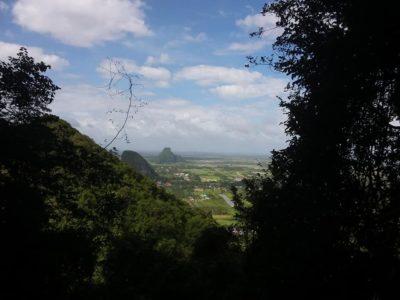 Vue panoramique sur Phatthalung
