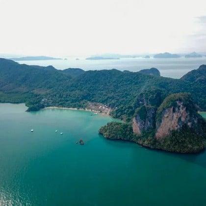 Îles Phi Phi, Yao Yai et Khai en hors-bord