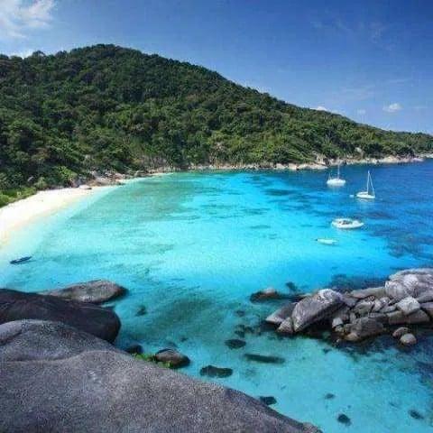 Îles Similan d'une journée en hors-bord