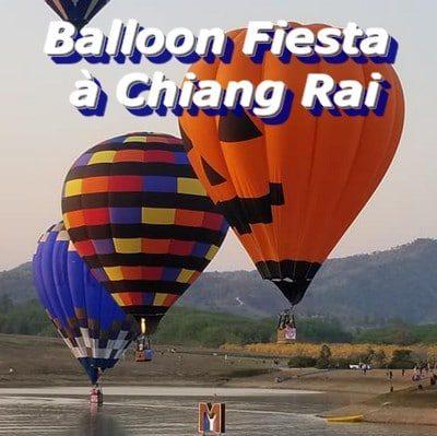 Balloon Fiesta à Chiang Rai