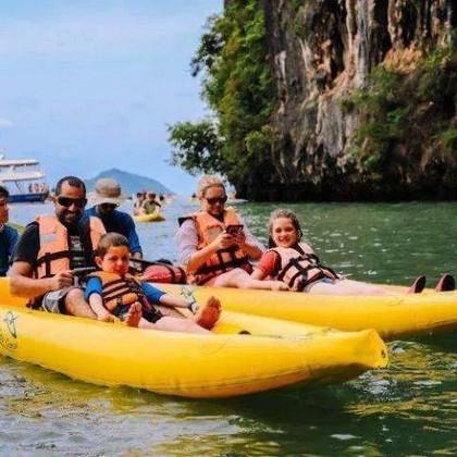 Hong Island par Starlight John Gray's Sea Canoe