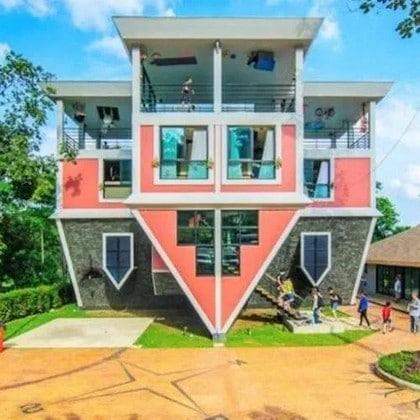 Maison à l'envers de Phuket et Garden Maze