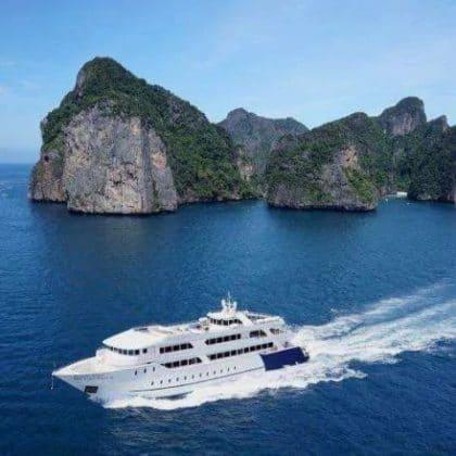 Îles Phi Phi en yacht de luxe