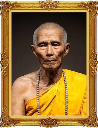 Le vénérable moine Kru Ba Chaiyawongsabattana (Kruba Wong)