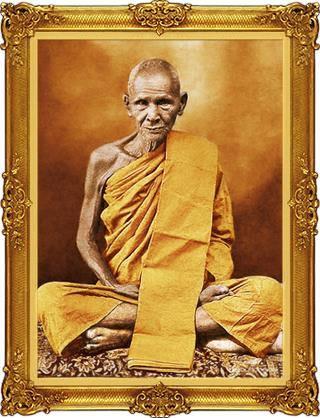 Le vénérable moine Luang Phor Derm