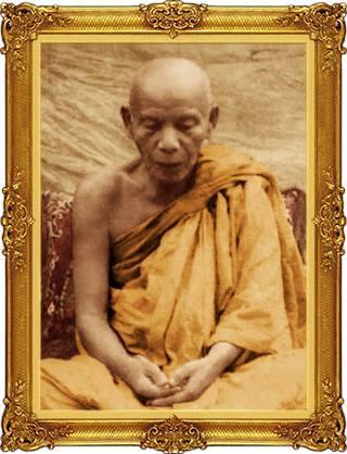 Le vénérable moine Luang Phor Klai