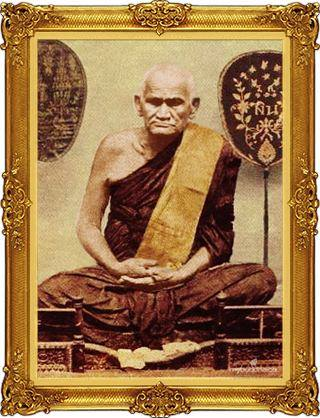 Le vénérable moine Luang Phor Ngern Buddhachote